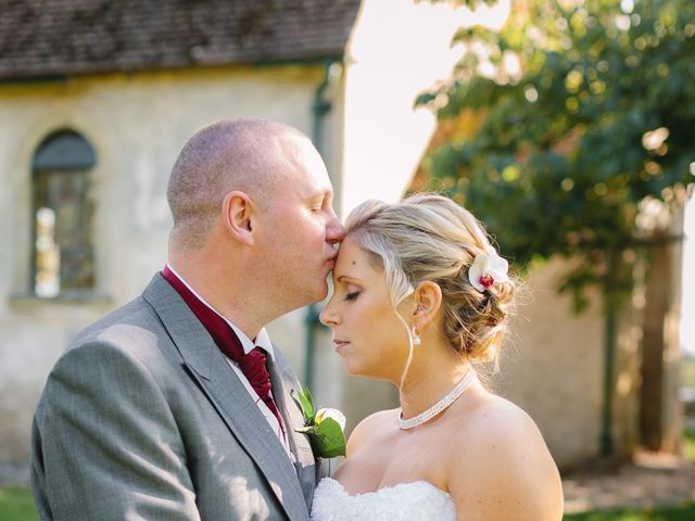 Barry and Kate's Wedding in Wasing, Berkshire 1