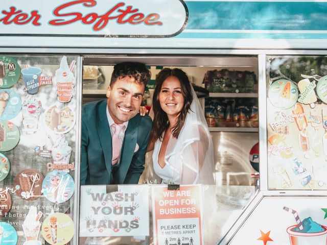 Harry and Kay's Wedding in Cardiff Bay, Cardiff 4