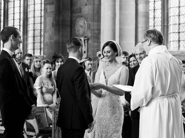 Richard and Nadia's Wedding in Compton Verney, Warwickshire 35