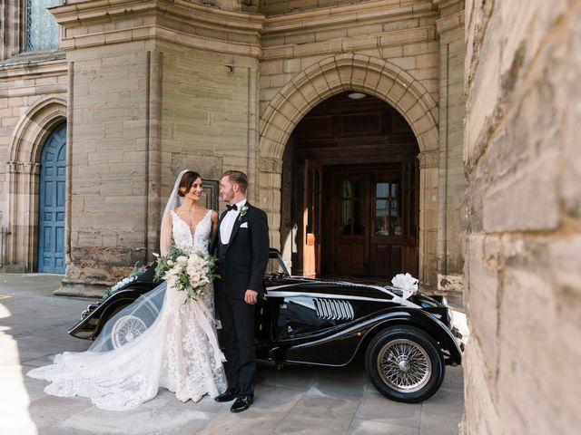 Richard and Nadia's Wedding in Compton Verney, Warwickshire 1