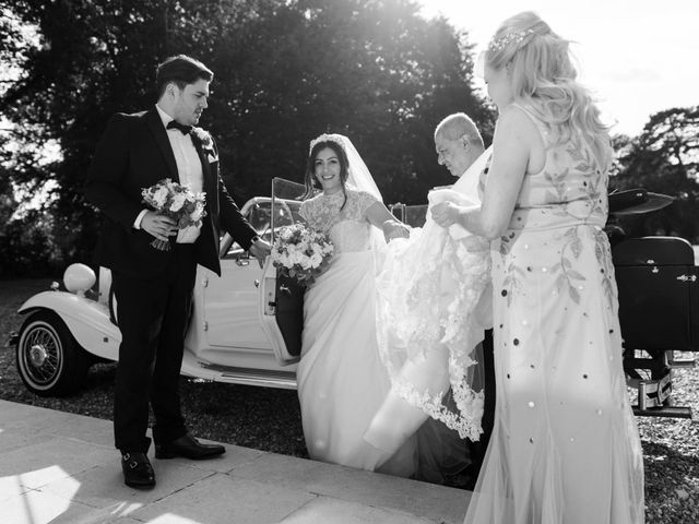 Andy and Sophie's Wedding in Ware, Hertfordshire 45