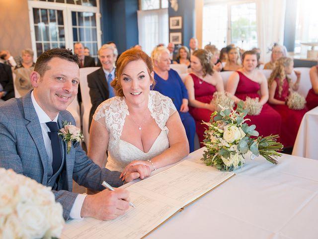 Rhys and Rhian's Wedding in Llanelli, Carmarthenshire 12