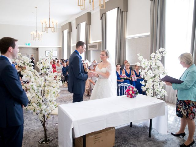 Sam and Katie's Wedding in Old Windsor, Berkshire 35