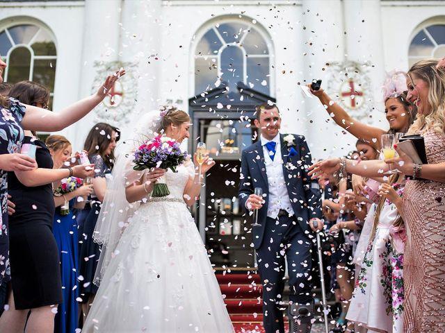 Sam and Katie's Wedding in Old Windsor, Berkshire 42