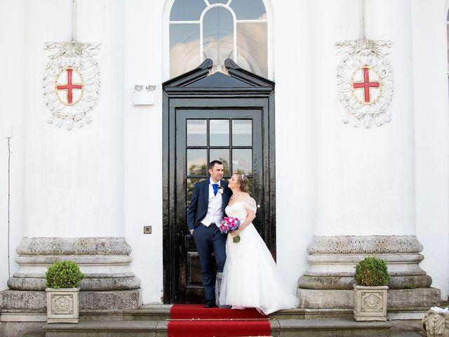 Sam and Katie's Wedding in Old Windsor, Berkshire 43