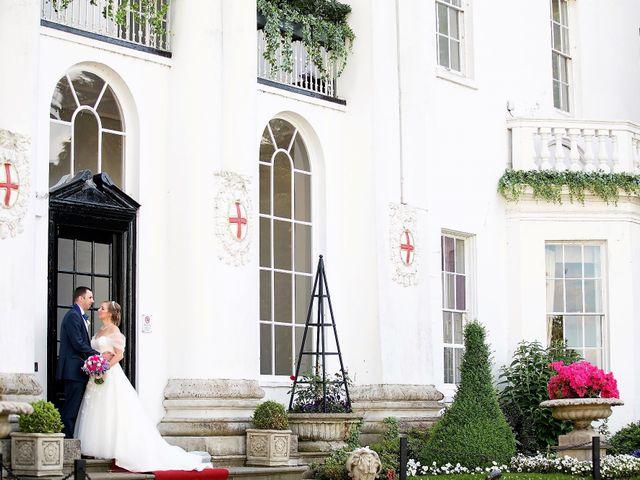 Sam and Katie's Wedding in Old Windsor, Berkshire 44