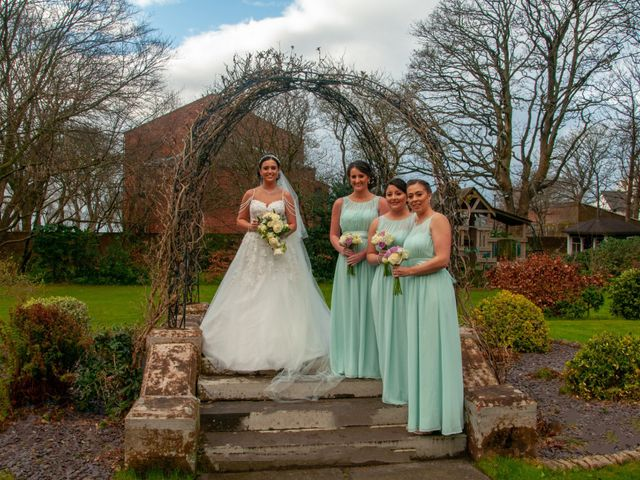Shannon and Sean's Wedding in Ayr, Dumfries Galloway & Ayrshire 2