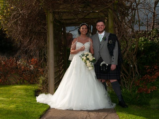 Shannon and Sean's Wedding in Ayr, Dumfries Galloway & Ayrshire 12