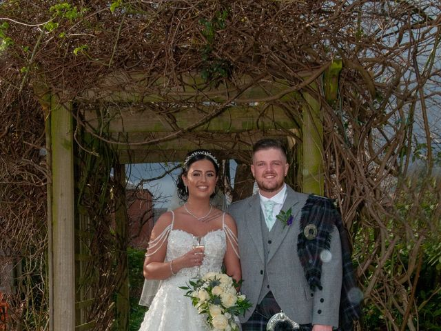 Shannon and Sean's Wedding in Ayr, Dumfries Galloway & Ayrshire 13
