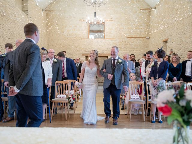 Mike and Michelle's Wedding in Kingscote, Gloucestershire 10