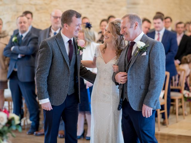 Mike and Michelle's Wedding in Kingscote, Gloucestershire 12