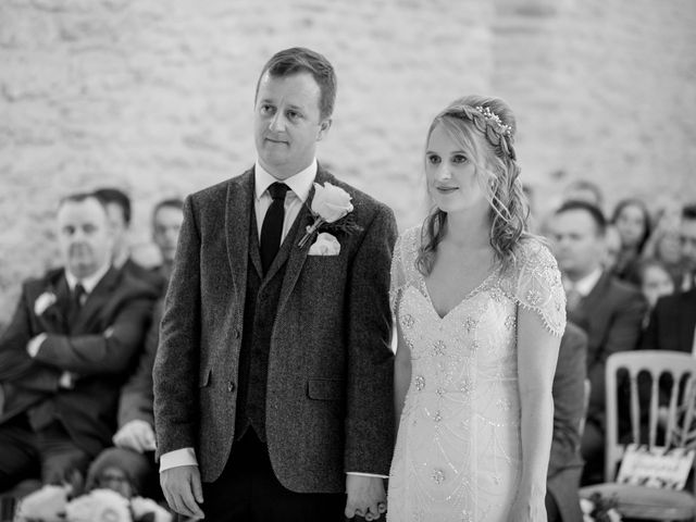 Mike and Michelle's Wedding in Kingscote, Gloucestershire 13