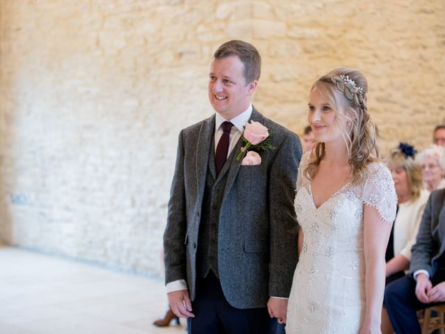 Mike and Michelle's Wedding in Kingscote, Gloucestershire 14