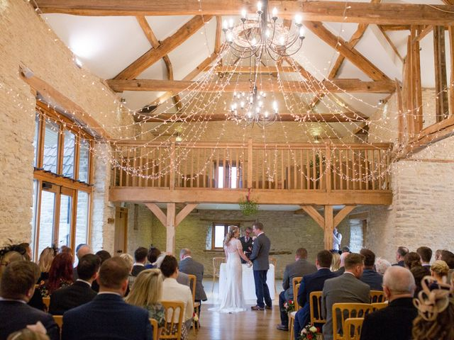 Mike and Michelle's Wedding in Kingscote, Gloucestershire 17