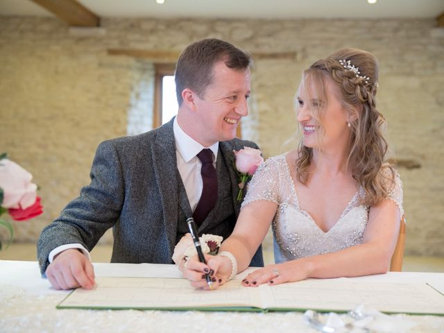 Mike and Michelle's Wedding in Kingscote, Gloucestershire 23