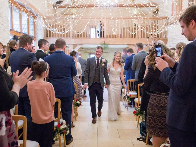 Mike and Michelle's Wedding in Kingscote, Gloucestershire 26
