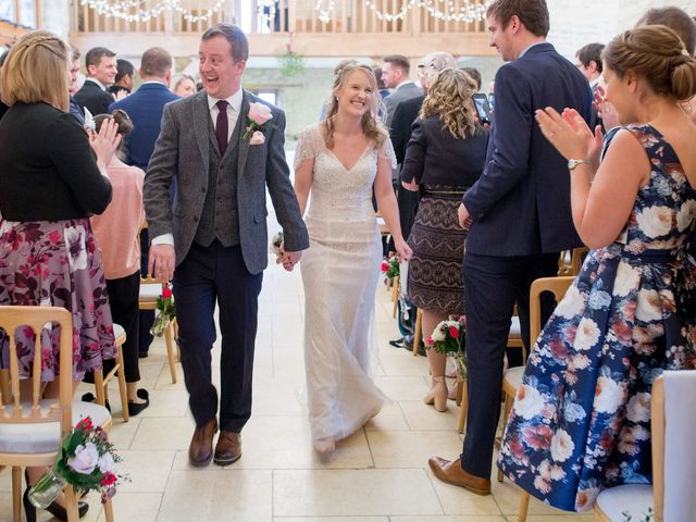 Mike and Michelle's Wedding in Kingscote, Gloucestershire 27