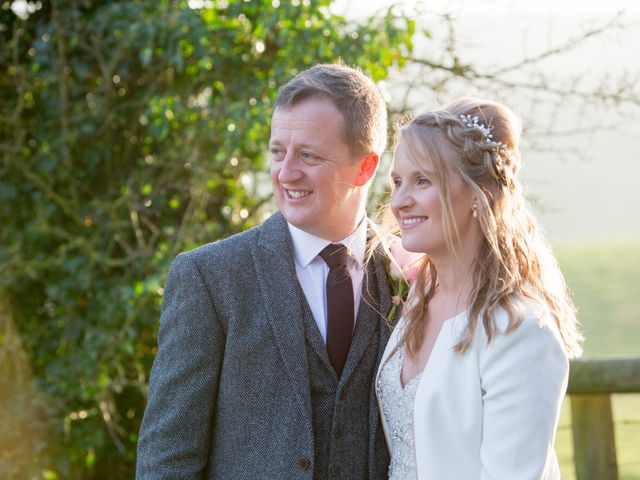 Mike and Michelle's Wedding in Kingscote, Gloucestershire 33