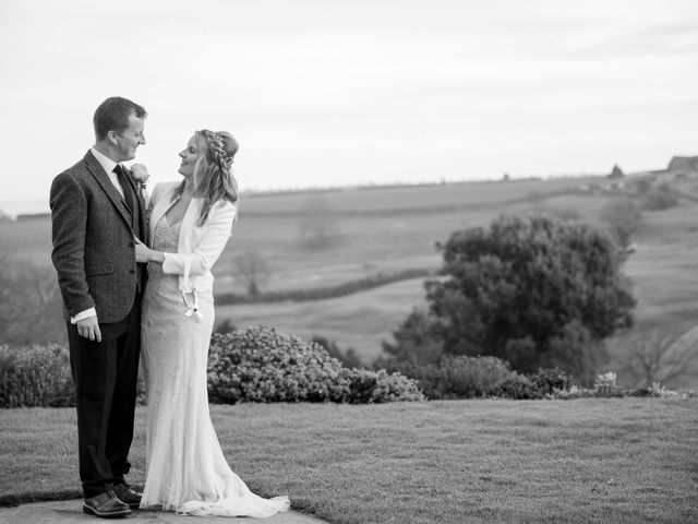 Mike and Michelle's Wedding in Kingscote, Gloucestershire 36