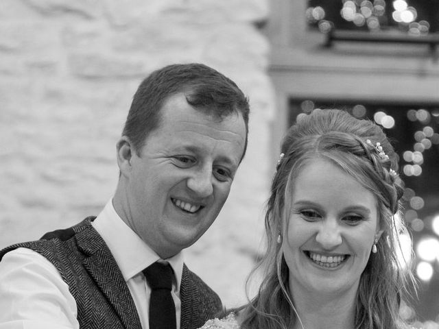 Mike and Michelle's Wedding in Kingscote, Gloucestershire 46