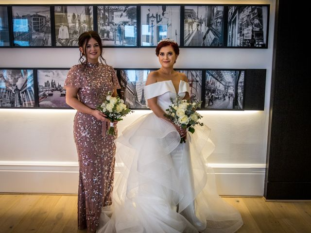 Robbie Jones and Criseyde's Wedding in City of London, East Central London 9