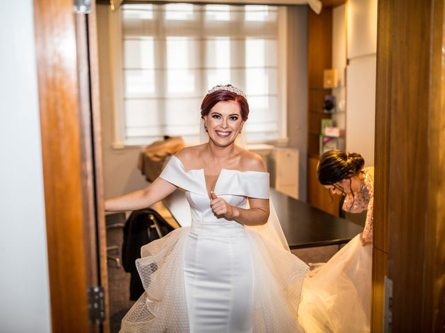 Robbie Jones and Criseyde's Wedding in City of London, East Central London 10