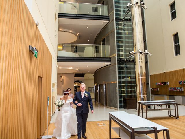 Robbie Jones and Criseyde's Wedding in City of London, East Central London 11