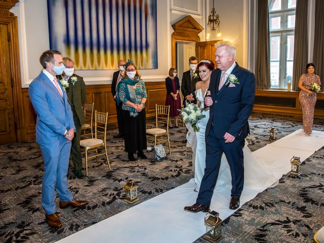 Robbie Jones and Criseyde's Wedding in City of London, East Central London 12