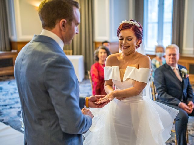 Robbie Jones and Criseyde's Wedding in City of London, East Central London 13