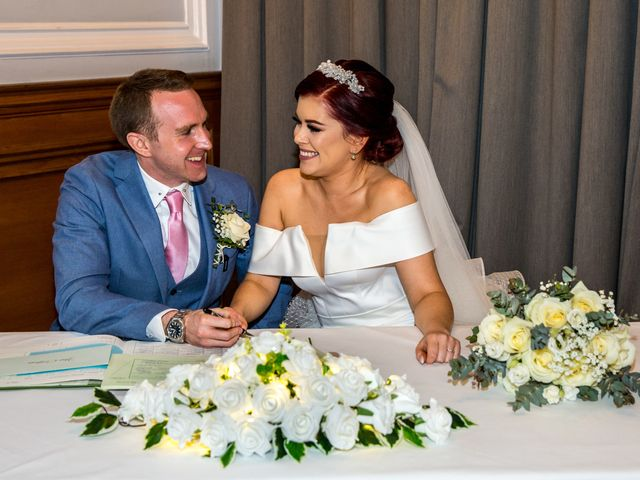 Robbie Jones and Criseyde's Wedding in City of London, East Central London 15