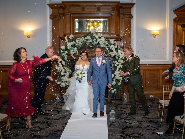 Robbie Jones and Criseyde's Wedding in City of London, East Central London 16