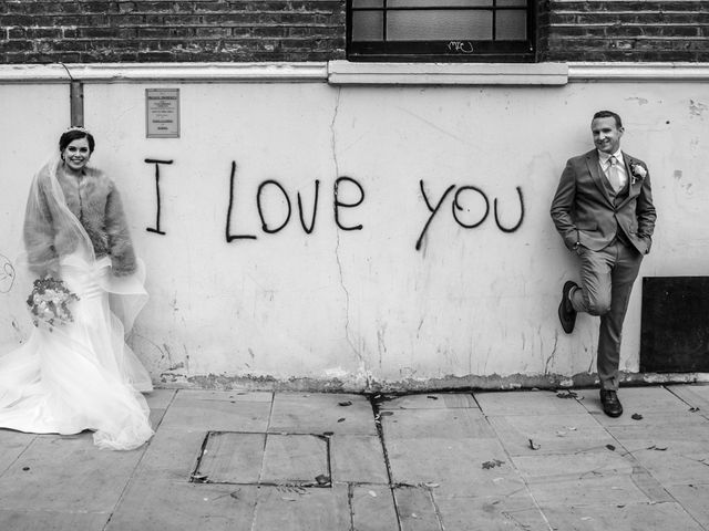 Robbie Jones and Criseyde's Wedding in City of London, East Central London 19