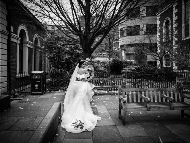 Robbie Jones and Criseyde's Wedding in City of London, East Central London 20