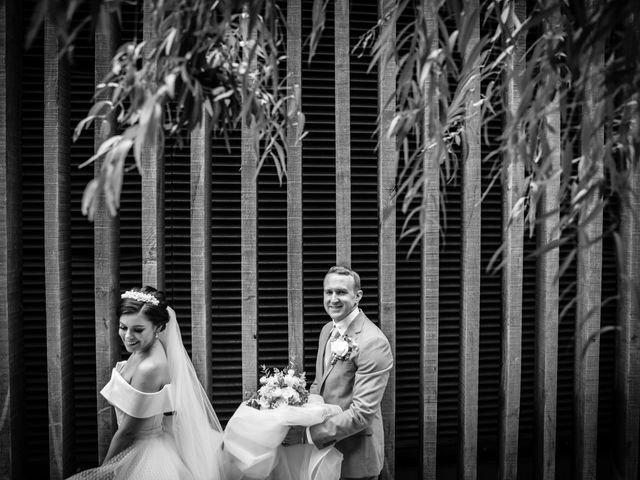 Robbie Jones and Criseyde's Wedding in City of London, East Central London 21