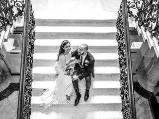 Marina & Ross's wedding