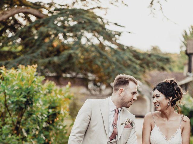 James and Hazel's Wedding in Berkhamsted, Hertfordshire 36