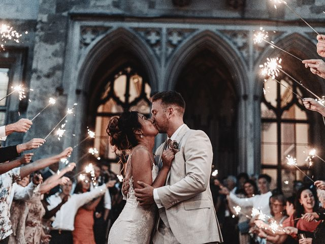 Hazel & James's wedding