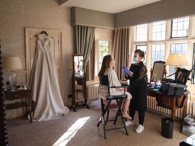 James and Louise's Wedding in Ware, Hertfordshire 11