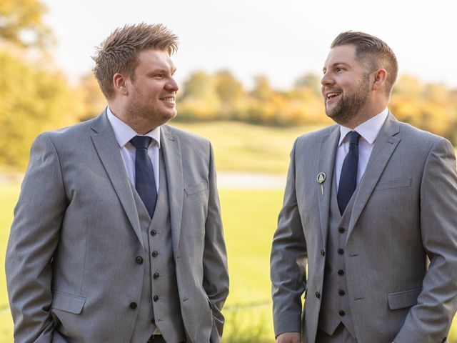 James and Louise's Wedding in Ware, Hertfordshire 30