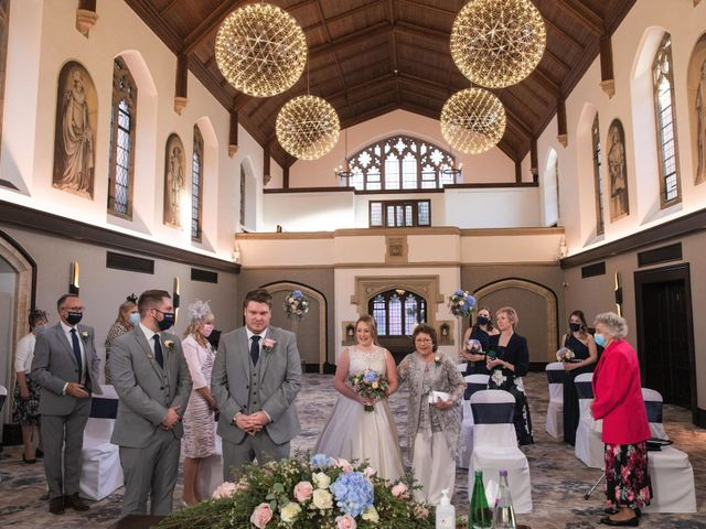 James and Louise's Wedding in Ware, Hertfordshire 49