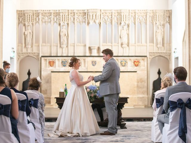 James and Louise's Wedding in Ware, Hertfordshire 52