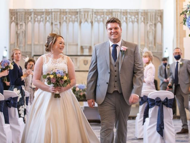 James and Louise's Wedding in Ware, Hertfordshire 57