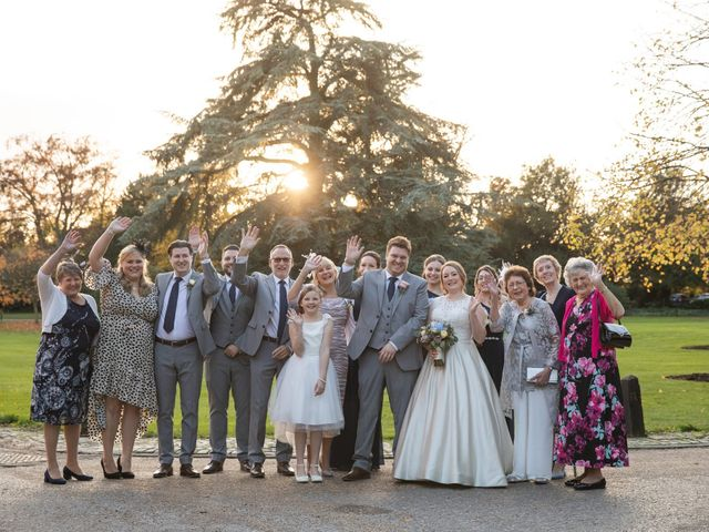 James and Louise's Wedding in Ware, Hertfordshire 60