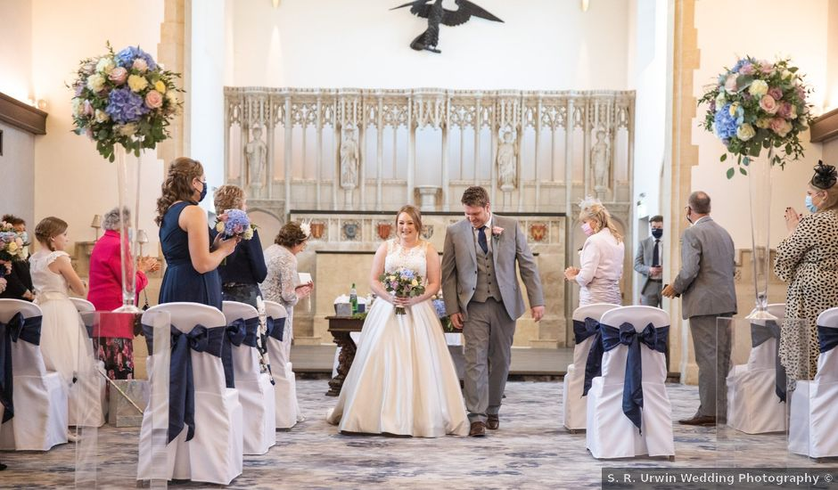 James and Louise's Wedding in Ware, Hertfordshire