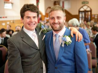 Amie & Josh's wedding 1