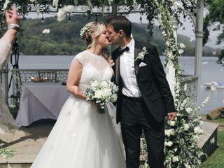 Claire & Derek's wedding