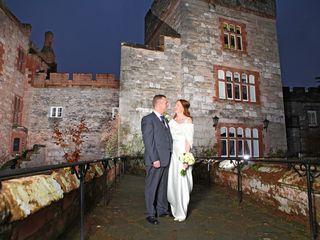 Tracey & Jonathan's wedding