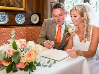 Claire & Chris's wedding
