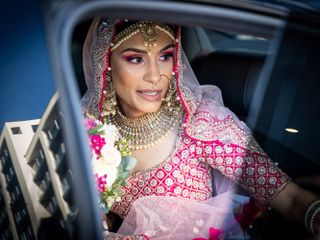 Sunita & Huw's wedding 1