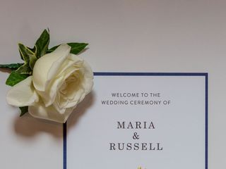 Maria & Russell's wedding 3